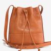 Leather Bucket Bag