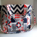 Nautical Diaper Bag