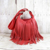 Red Fringe Bag