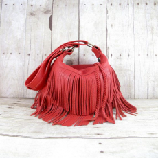 Red Fringe Bag