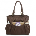 Brown Diaper Bag