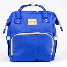 Blue Diaper Bag