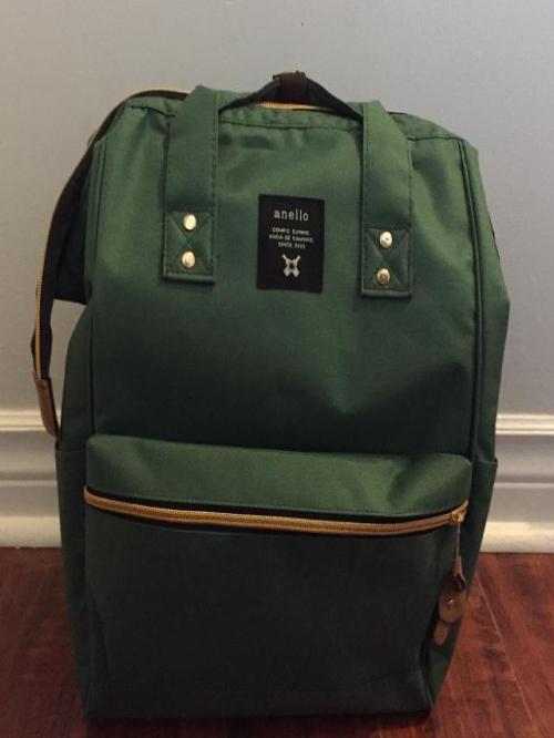 Green Diaper Bag