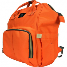 Orange Diaper Bag