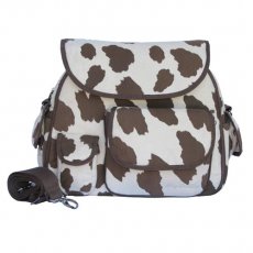 Cow Print Diaper Bag