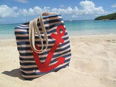 Anchor Beach Bag Images