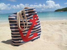 Anchor Beach Bag Images
