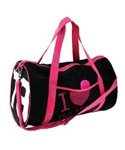 Black and Pink Gym Bag