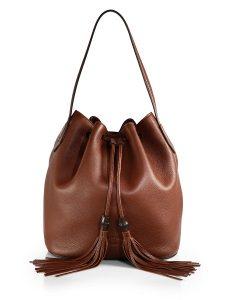 Brown Bucket Bag Images