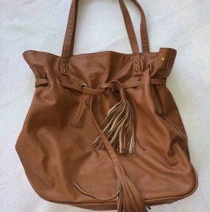 Brown Bucket Bag Photos