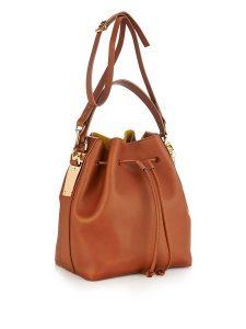 Brown Bucket Bag Pictures