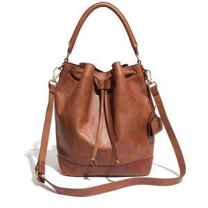 Brown Bucket Bags