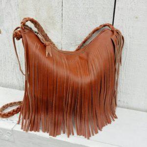 Brown Fringe Bag Photos