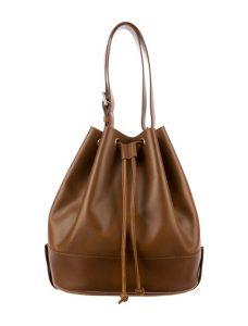 Bucket Brown Bag