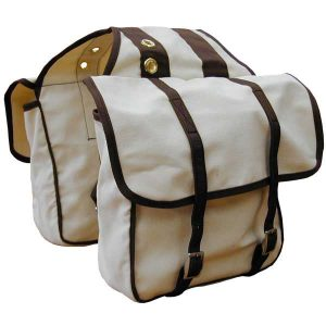 Canvas Saddle Bags Horse