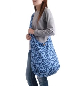 Cotton Shoulder Sling Bag
