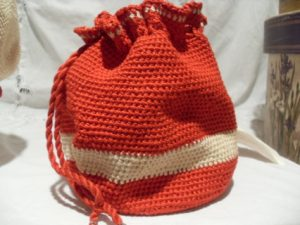 Crochet Drawstring Bag Pattern