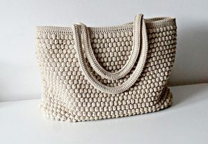 Crochet Tote Bag Photos