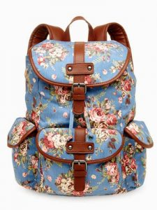 Cute Canvas Book Bags