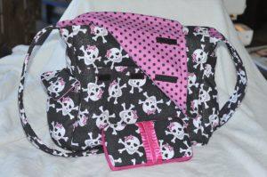 Diaper Skull Bag