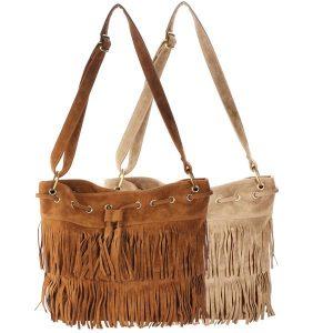 Fringe Messenger Bags