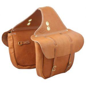 Horse Saddle Bags Leather