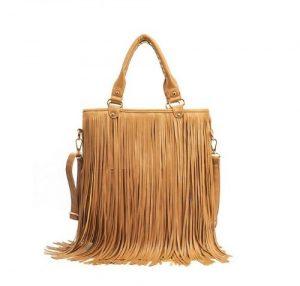 Images of Brown Fringe Bag