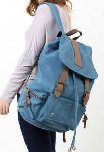 Images of Canvas Book Bag