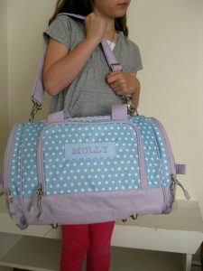 Kids Monogrammed Duffle Bags bags