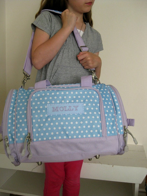 Kids Personalized Duffle Bags