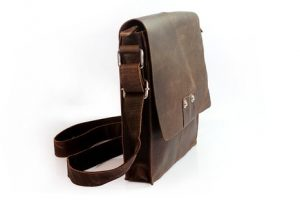 Leather Ipad Messenger Bag