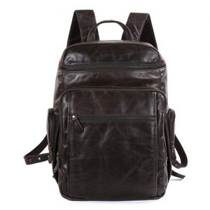 Leather School Bag for Boys