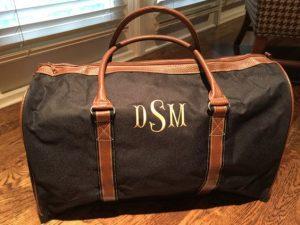 Monogrammed Duffle Bags for Men