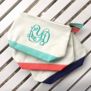 Monogrammed Toiletry Bag Pictures