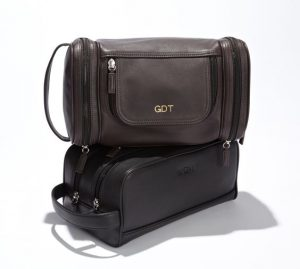 Monogrammed Toiletry Bag for Men