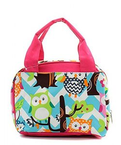 Owl Insulated Lunch Bag