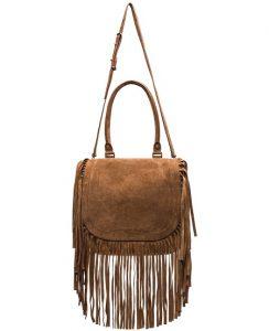 Pictures of Brown Fringe Bag