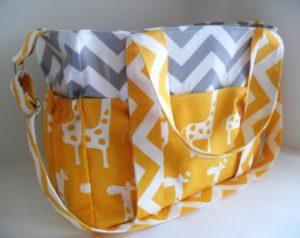 Pictures of Giraffe Diaper Bag