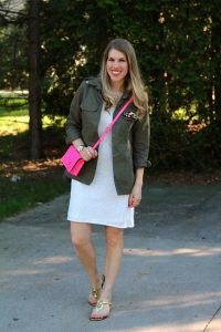 Pink Crossbody Bag Outfit