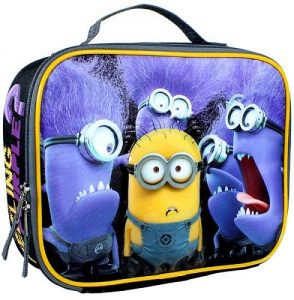 Purple Minion Lunch Bag