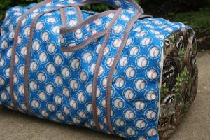 Quilted Duffle Bag Pattern