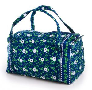 Quilted Fabric Duffle Bags