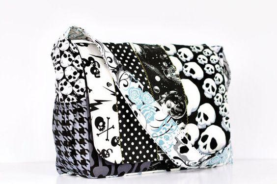 Skull Diaper Bag