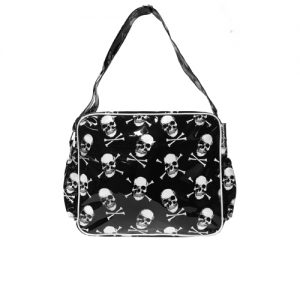 Skull and Crossbones Diaper Bag