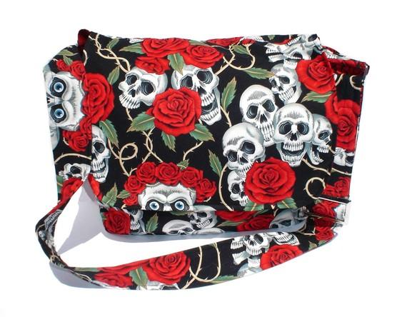 Skulls Diaper Bag