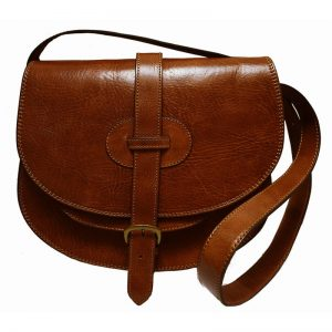 Tan Leather Saddle Bags