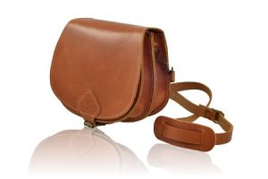 Womens Leather Saddle Bags