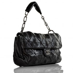 Black Quilted Bag Images