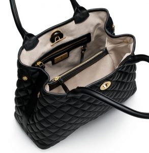 Black Quilted Bags