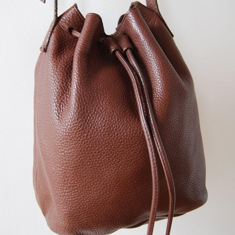 Leather Drawstring Bag | All Fashion Bags